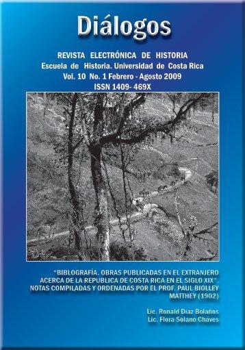 SIGlo xIx - Escuela de Historia - Universidad de Costa Rica
