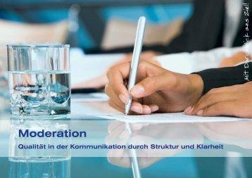 Moderation - Denk Beratung & Training