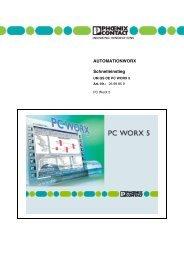 Schnelleinstieg UM QS DE PC WORX 5