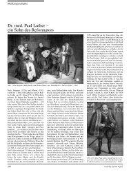 Dr. med. Paul Luther – ein Sohn des Reformators