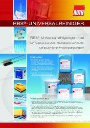 RBS®-UNIVERSALREINIGER - Carl Roth