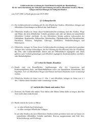 (1) Die Gefahrenabwehrverordnung gilt für alle ... - Stadt Runkel
