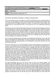 1 Autor: Adolf Heller Thema: Täler der Schrift – Vorwort ... - Kahal.De