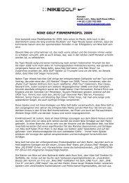 Nike_Company profile 2009-D - Golf.de