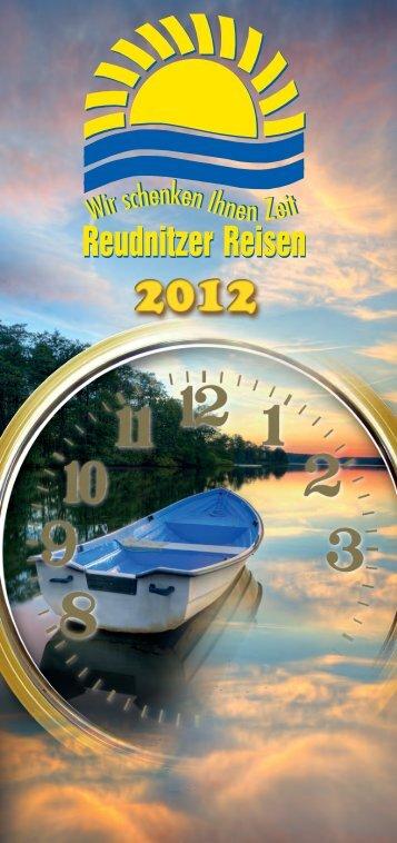 Reisekatalog für 2013! - Reudnitzer Reisen