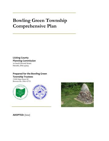 Bowling Green Township Comprehensive Plan - Licking County