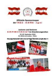 TREC-Junioren Sponsormappe - Pferdplus