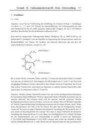 Versuch 12: Carbonsäurederivate III – Fette – Fettverseifung 163