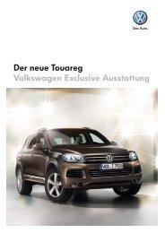 Der neue Touareg Volkswagen Exclusive ... - Autohaus Perski ohg