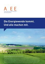 Die Energiewende kommt. Und alle machen mit. - Agentur für ...