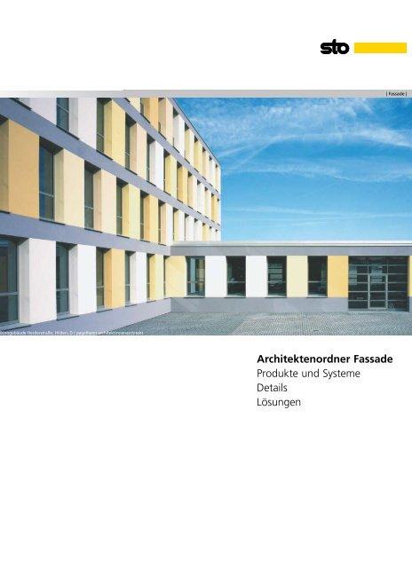 Architektenordner Fassade Sto