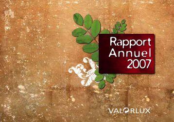 Rapport Annuel 2007 - paperJam