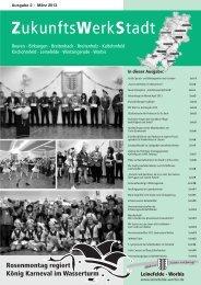 ZukunftsWerkStadt Ausgabe März 2013 - Stadt Leinefelde Worbis