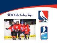 Powerpoint-Präsentation - Österreichischer Eishockeyverband
