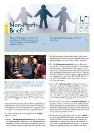 Non-Profit-Brief 04-2012 - Laufenberg Michels und Partner