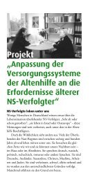 Projekt Altenhilfe - Flyer - Bundesverband Information und Beratung ...
