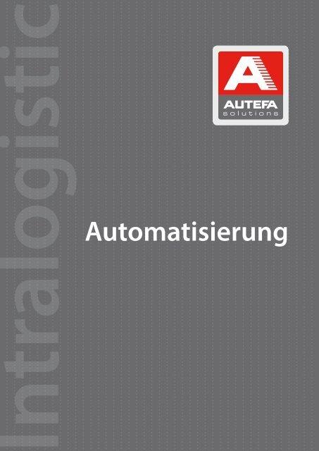 Automatisierung - Autefa Solutions