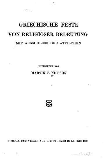 Griechische Feste von religiöser Bedeutung - Centrostudirpinia.it