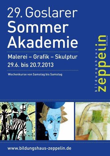 Sommer Akademie - Bildungshaus Zeppelin