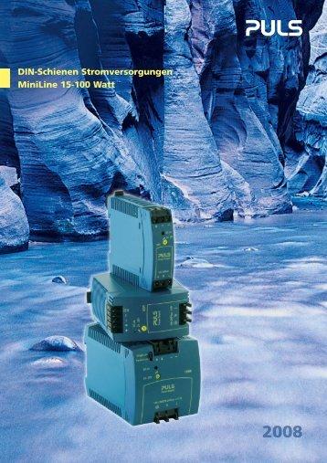 VRZ_ML_6s_de:Layout 1.qxd - PULS Electronic GmbH