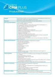 CRM PLUS - Brehmer Software Gmbh
