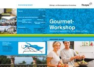 Gourmet- Workshop - und Beratungszentrum Arenenberg