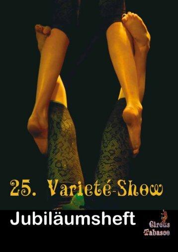Varieté-Shows und Kinderzirkusaufführungen - Circus Tabasco