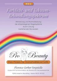 Farblicht- und Vakuum Behandlungen.pdf - Pro Beauty Praxis für ...