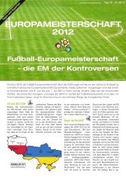 EUROPAMEISTERSCHAFT 2012 - Tipps-vom-Experten.de