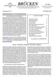 Oktober 2000 | Jahrgang 2, Nr. 4 - Germanwatch