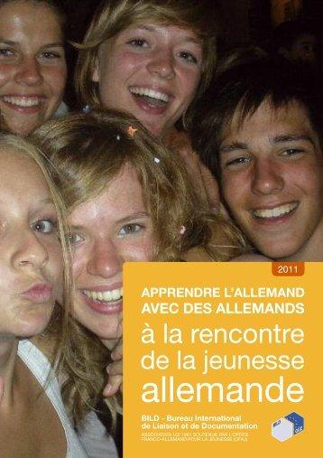 """Brochure """"A la rencontre de la jeunesse allemande"""" - BILD - Bureau ..."""
