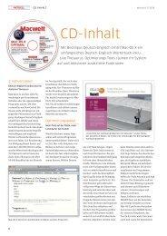 der CD (PDF) - Macwelt