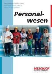 Personal- wesen - Brehmer Software Gmbh