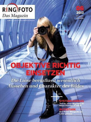 objektive richtig einsetzen - Foto Hirrlinger GmbH