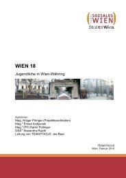 Fachbereich/Stabsstelle Abteilung - Fonds Soziales Wien