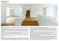 Wohnhaus in Kilchberg - Frei + Saarinen Architekten