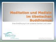 Meditation und Medizin im tibetischen Buddhismus - Praxis für ...