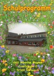 Schulprogramm der GGS Albertus Magnus 1 - auf der Homepage ...