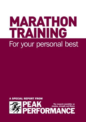 Marathon Training - Greystones Athletic Club