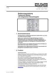 Bedienungsanleitung Funk-Präsenzmelder