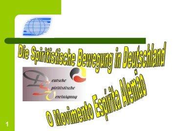 Spiritistische Bewegung in Deutschland - Deutsche Spiritistische ...