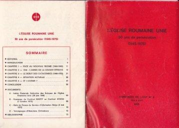SOMMAIRE - Remus Mircea Birtz Blog