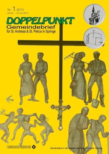 Nr. 1-2013 - Sankt Petrus Springe