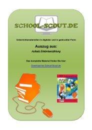 Aufsatz Erlebniserzählung - School-Scout