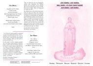 AVE MARÍA / AVE MARIA HAIL MARY / JE VOUS SALUE MARIE ...