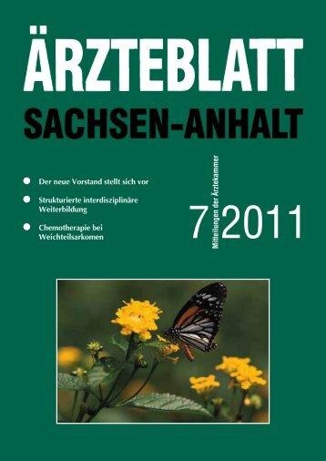 Als PDF-Datei herunterladen - Ärzteblatt Sachsen-Anhalt