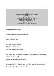 Rede von Herrn Oberbürgermeister Klaus ... - Stadt Oberhausen