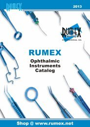 Keeler has been manufacturing ophthalmic instruments since
