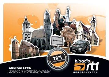 2010/2011 NORDSCHWABEN - Hitradio RT1