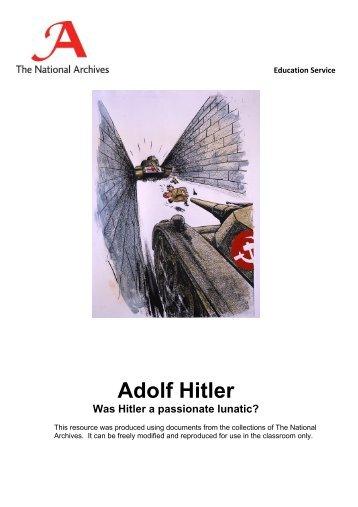 Adolf Hitler - The National Archives